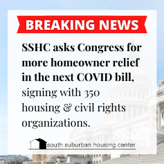 SSHC asks Congress for more homeowners relief