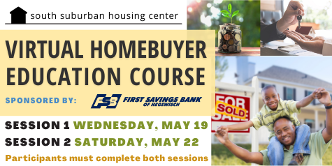 May 19 & 22 Virtual Homebuyer Educations Course, Click here.