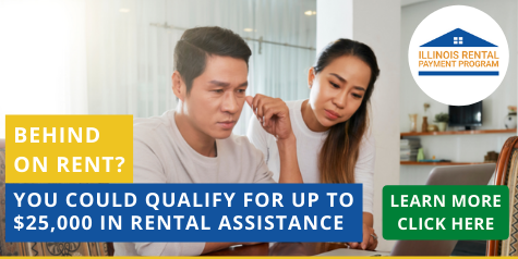 Behind on Rent? Click here to learn about IHDA's Emergency Rental Assistance